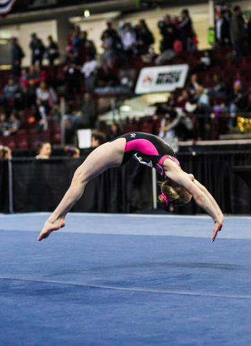 Hannah Sitzman Floor at 2017 Level 9 Western Championships