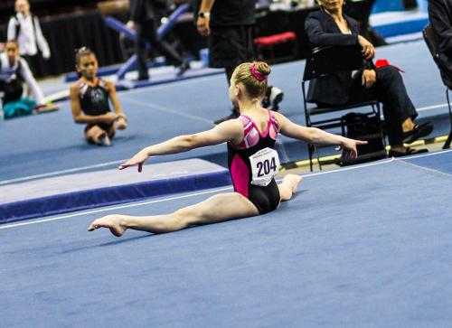 Hannah Sitzman Floor at 2017 Level 9 Western Championships