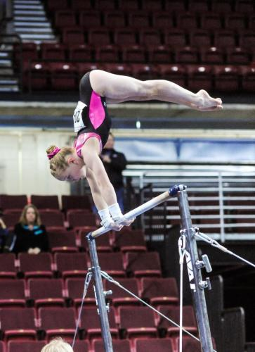 Hannah Sitzman Bars at 2017 Level 9 Western Championships