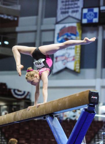 Hannah Sitzman Beam at 2017 Level 9 Western Championships